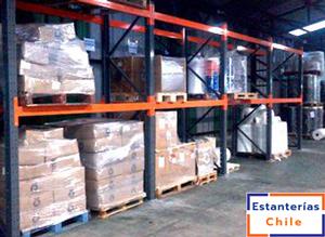 Rack Selectivo, sistema de almacenamiento de productos palletizados